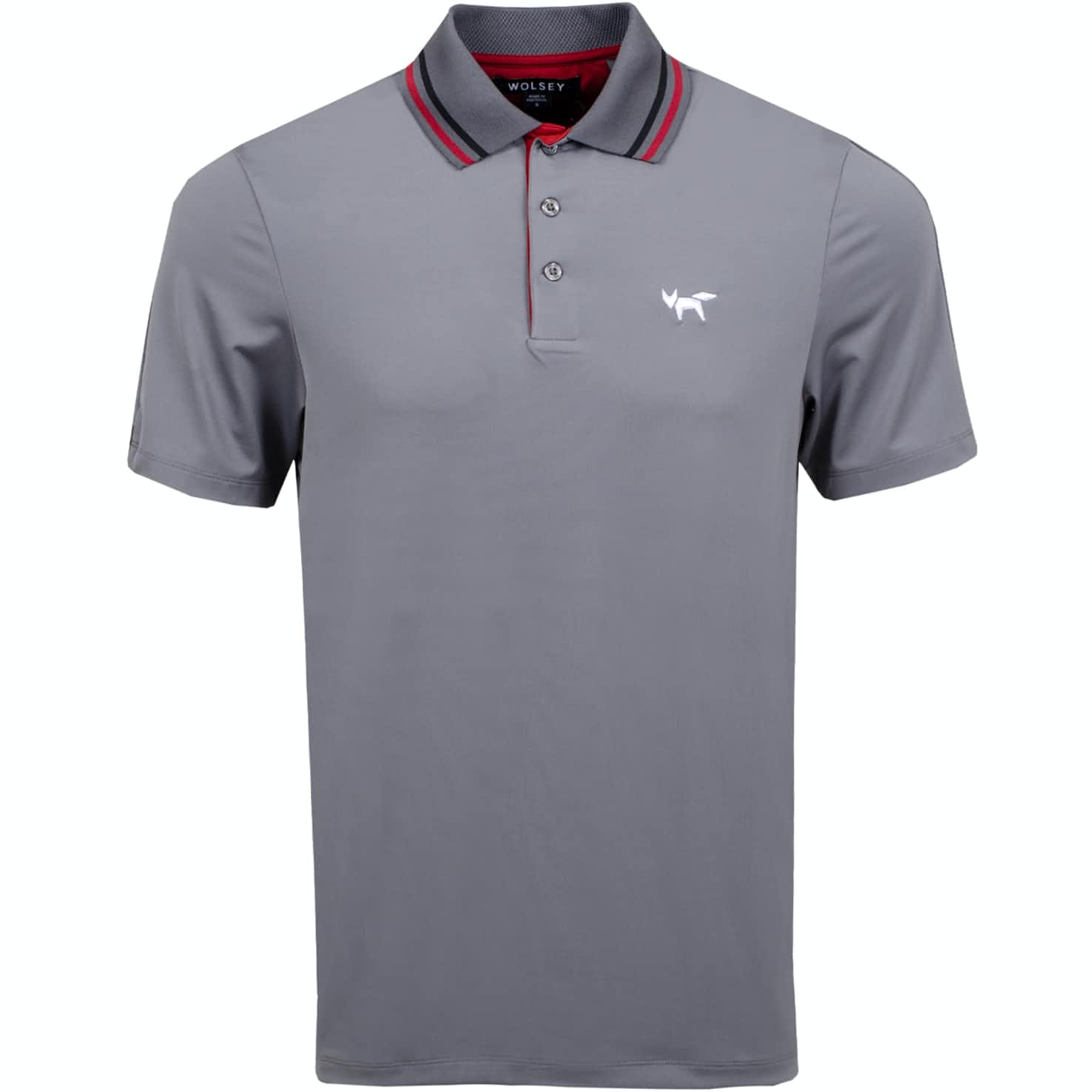 Tipping Polo Grey Melange - AW19