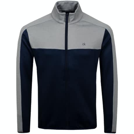 Atlas Full Zip Navy/Grey Marl - AW19
