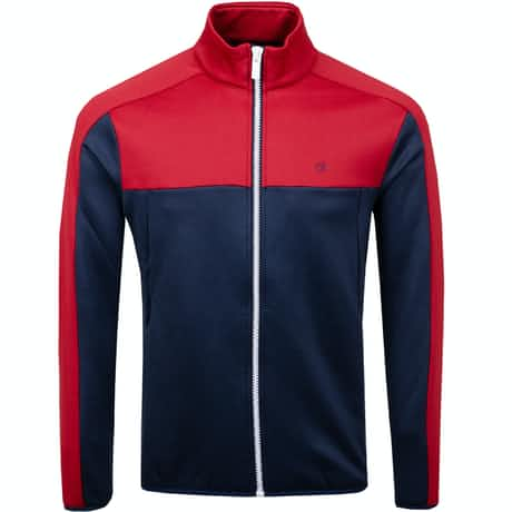 Atlas Full Zip Navy/Classic Red - AW19