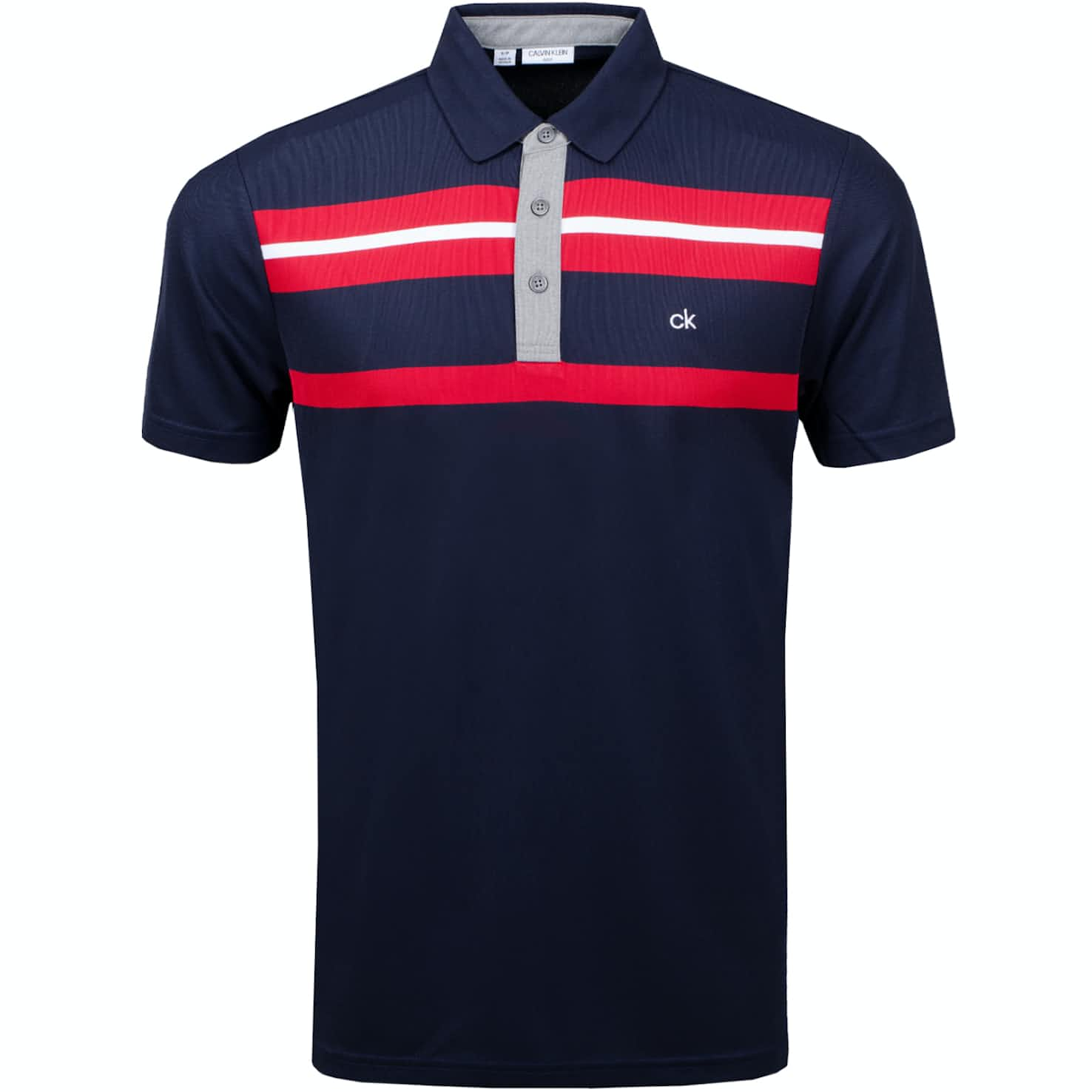 Anchor Polo Navy/Classic Red - AW19