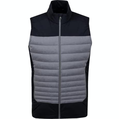 Kjus Blackcomb Stretch Vest Steel Grey Melange/Black - AW19