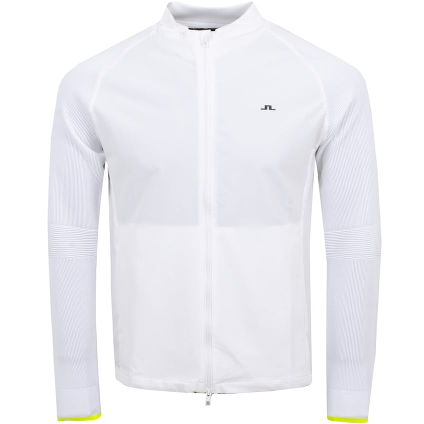 Frank Knitted Double Weave Stretch Jacket White - AW21 0