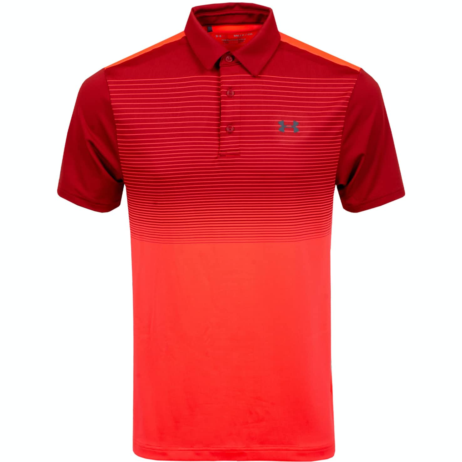 Playoff Polo 2.0 Stadium Red/Pitch Grey - AW19