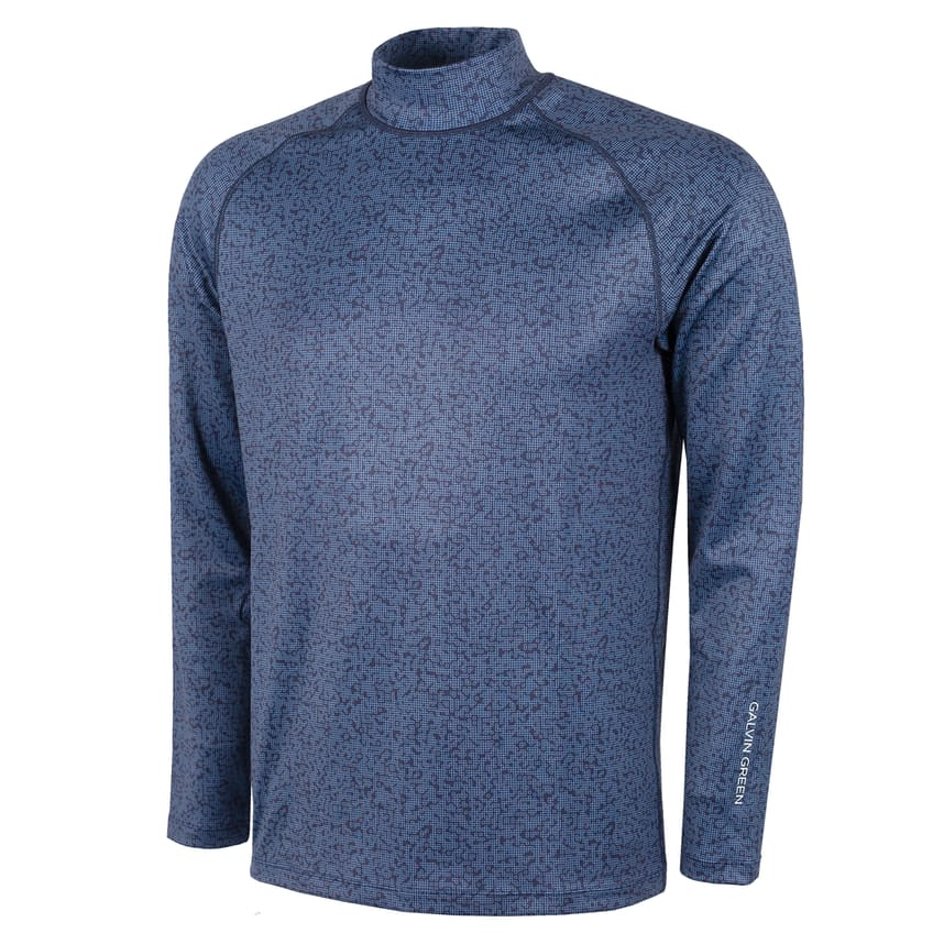 Ethan Roll Neck Thermal Navy - AW21 0