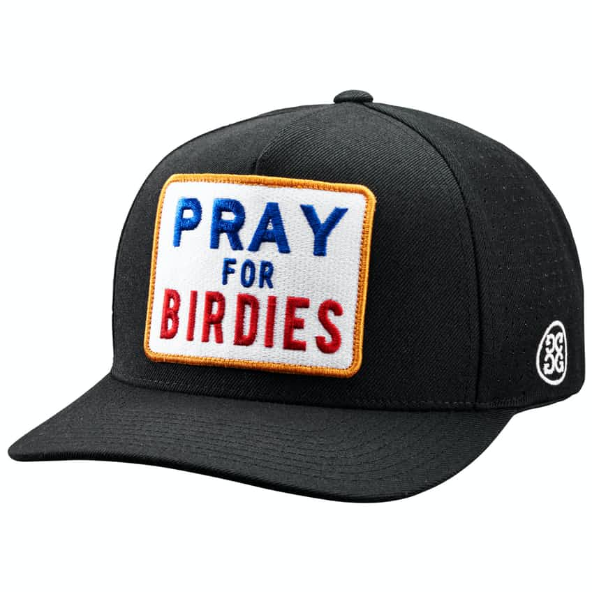 Pray For Birdies Snapback Onyx - 2020