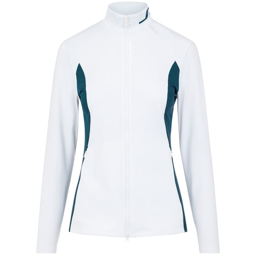 Womens Therese Sport Jersey Mid Layer White - AW21 0
