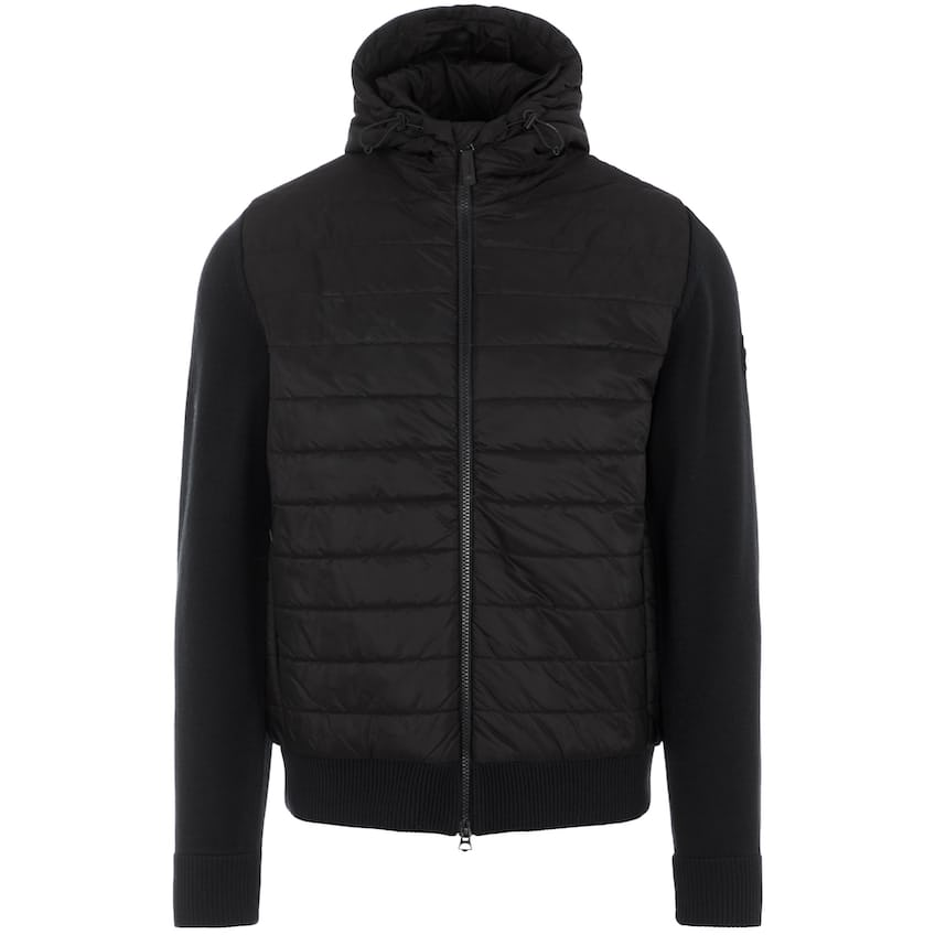 Pierre Knitted Hybrid Jacket Black - AW21 0