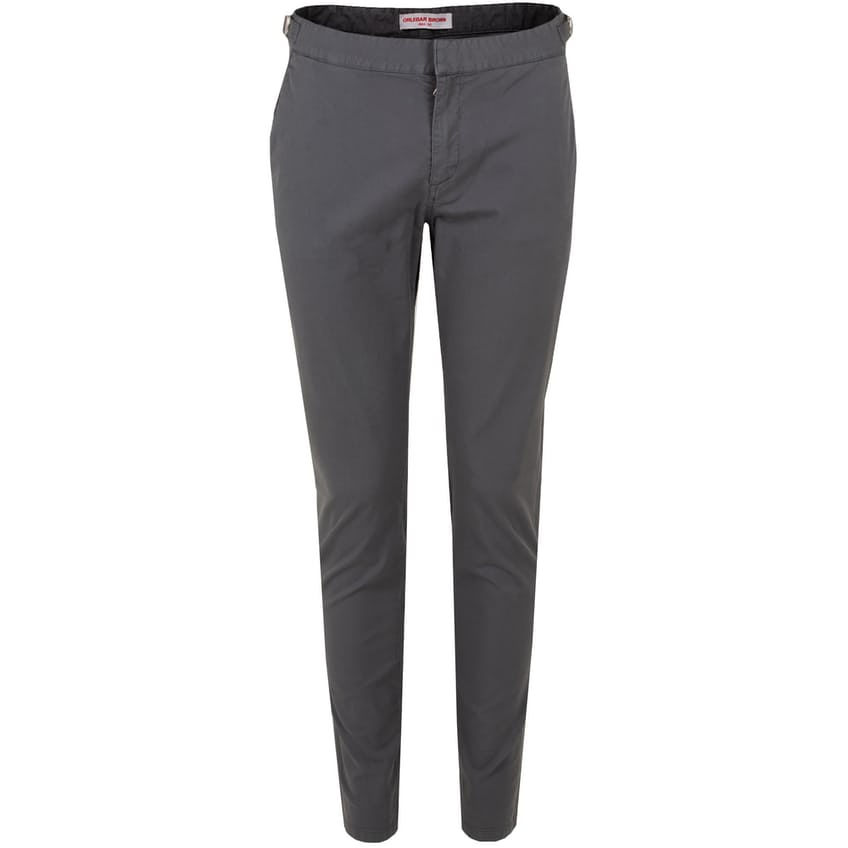 Campbell Slim Fit Trousers Storm Grey - AW21 0