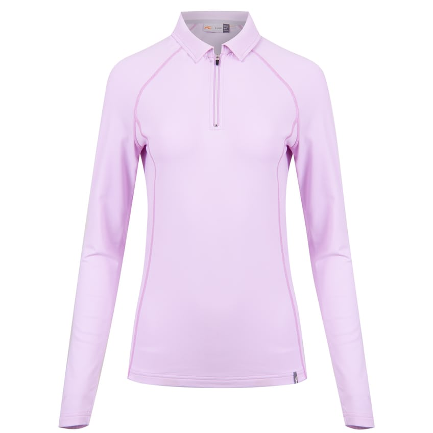 Womens Scot LS Polo Lilac Ice - AW21 0