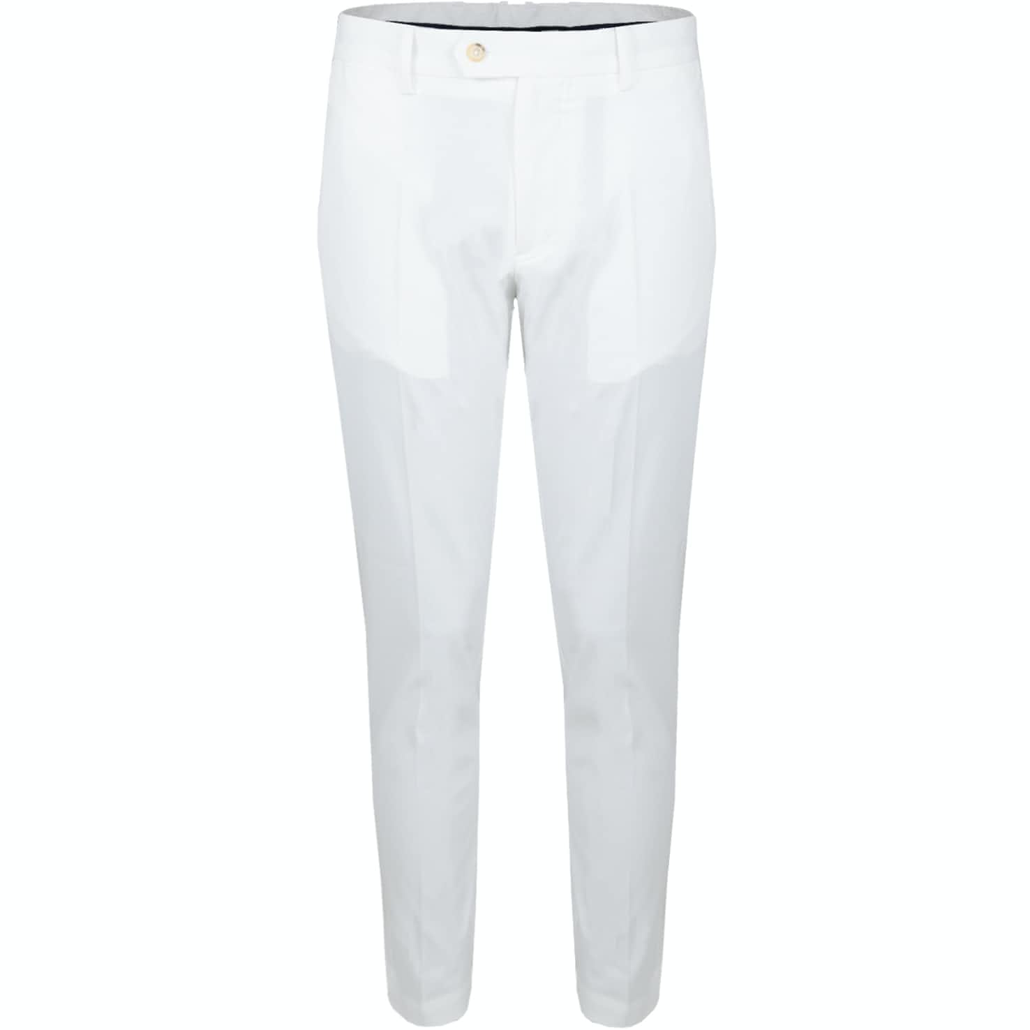 J.Lindeberg Vent Pants Tight Fit White - 2019