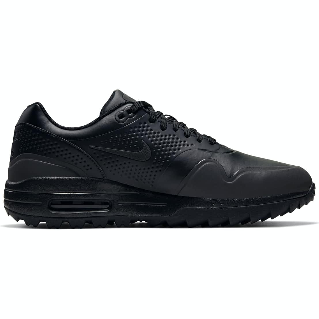 Air Max 1G Black/Black/Metallic Silver  - W19