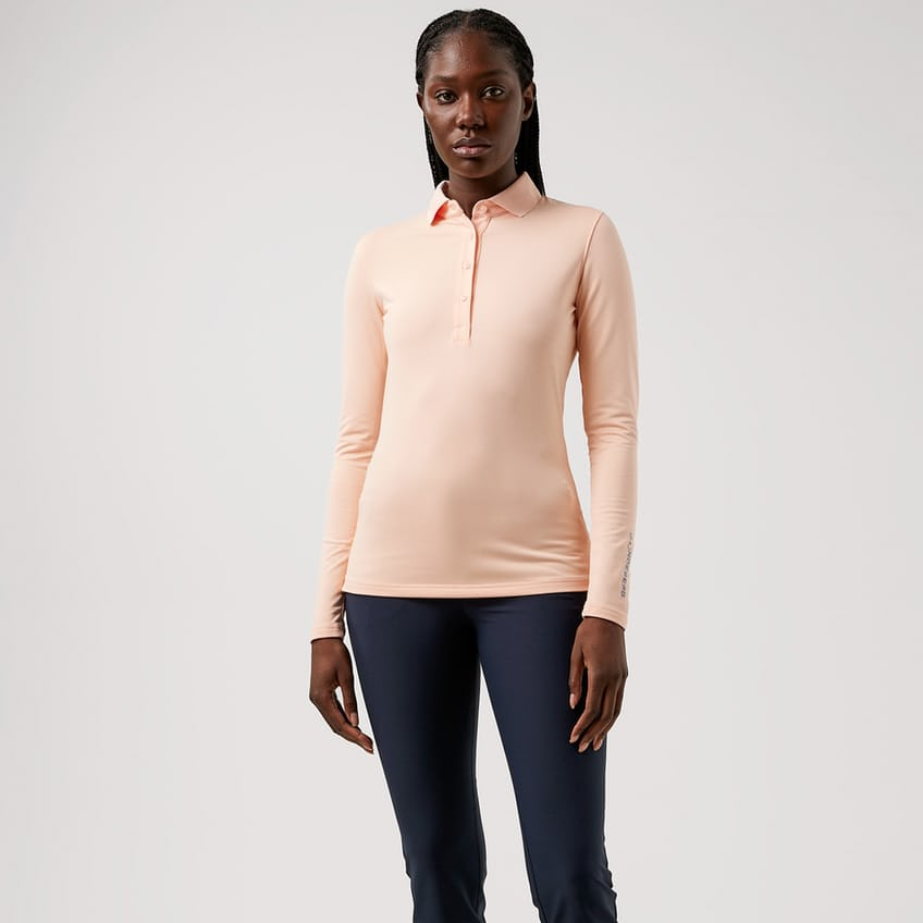 Womens Tour Tech LS Brushed TX Jersey Pale Pink - AW21 0
