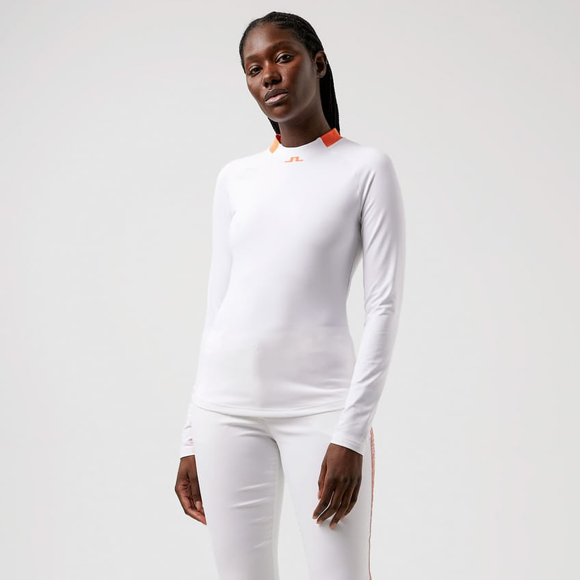 Womens Eleonore LS Brushed TX Jersey White - AW21 0