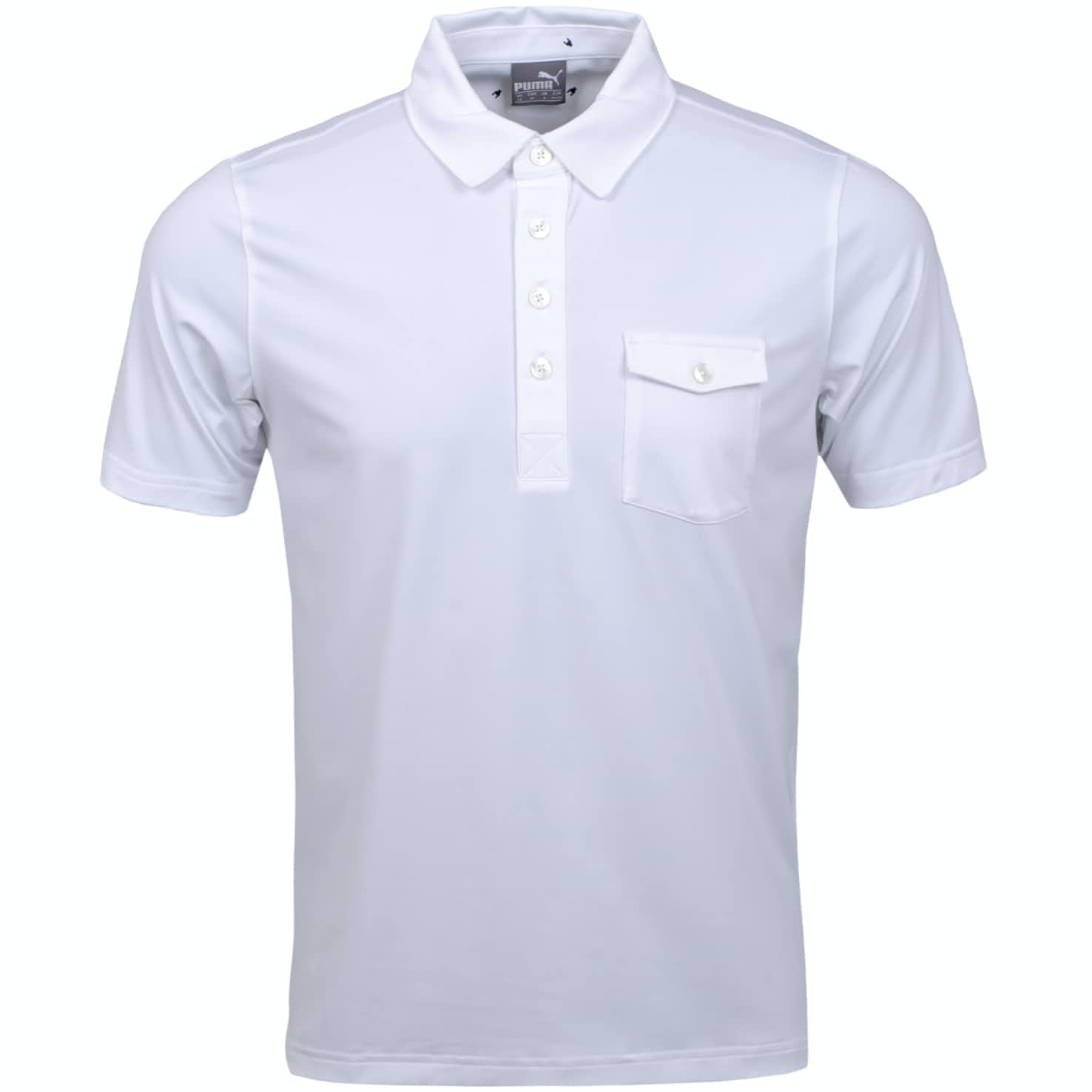 Donegal Polo Bright White - AW19