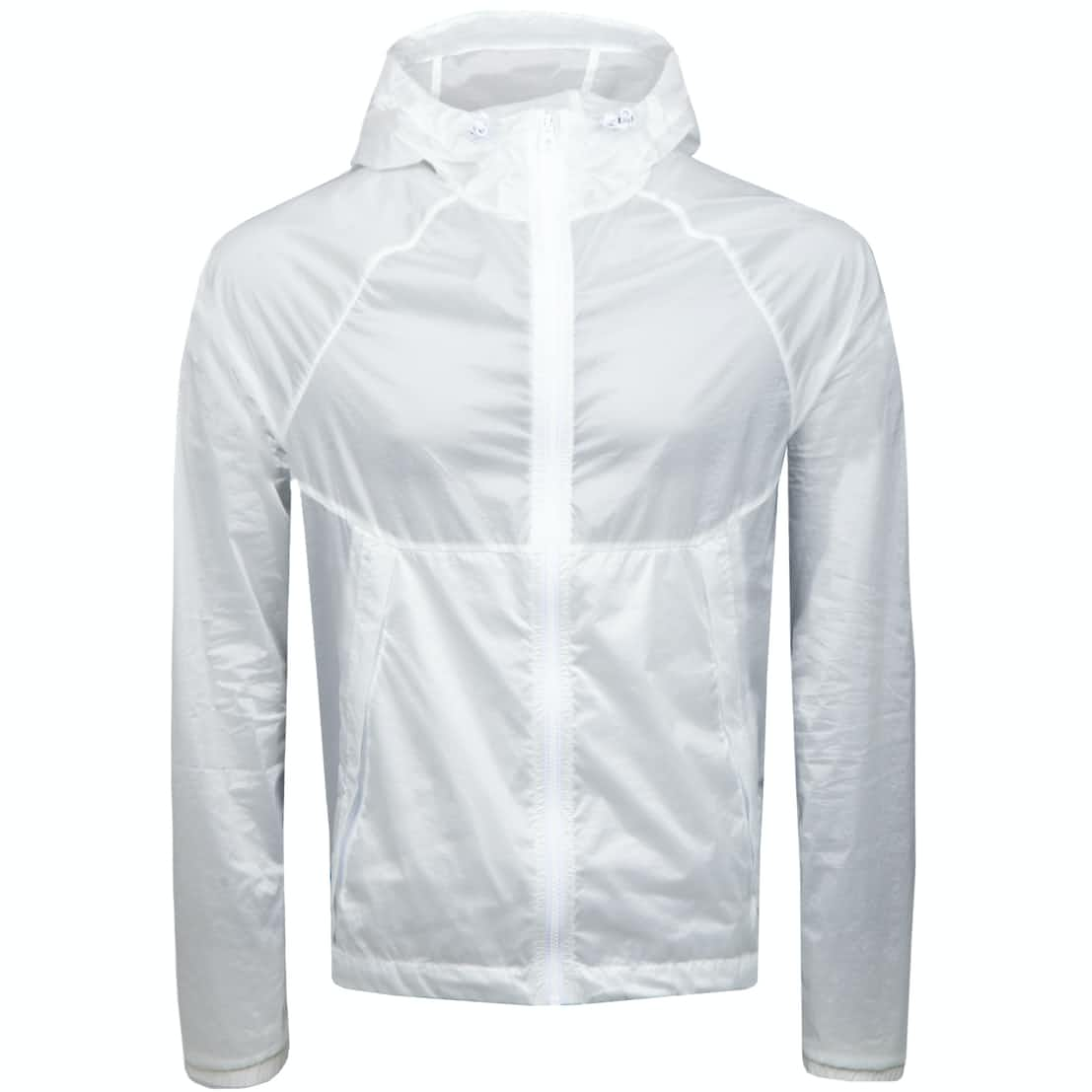 Keene Jacket Transparent Nylon White - SS18