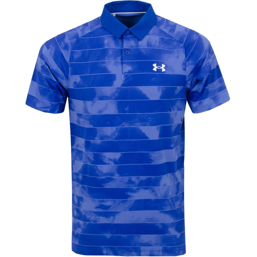 Iso-Chill Fog Stripe Polo Royal/Stardust Blue - AW21 0