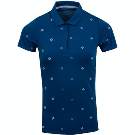 Womens Ditsy Polo Gibraltar Sea - AW19