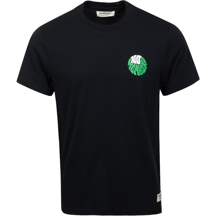Stay On The Greens T-Shirt Black - AW21 0