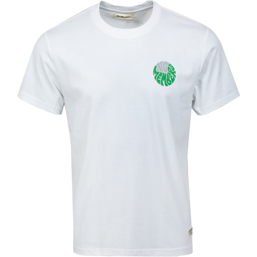 Stay On The Greens T-Shirt White - AW21 0