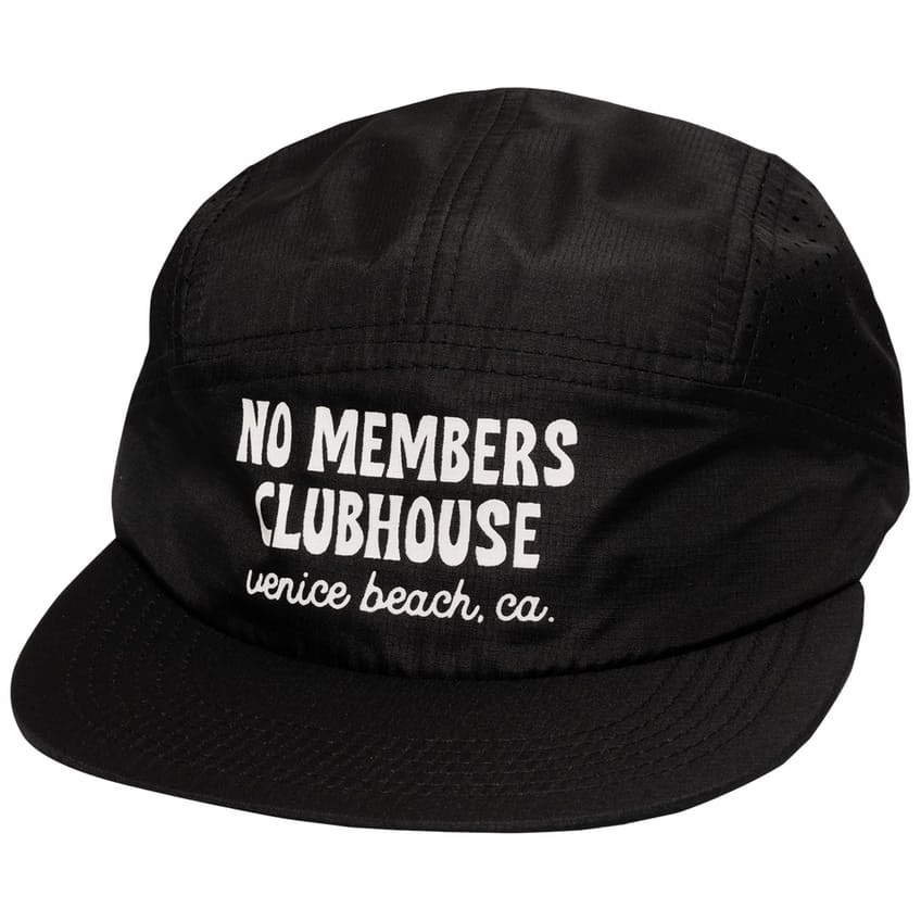 Clubhouse Five Panel Cap Black - AW21 0