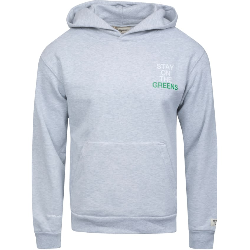 Stay On The Greens Recess Hoodie Ash Grey - AW21 0