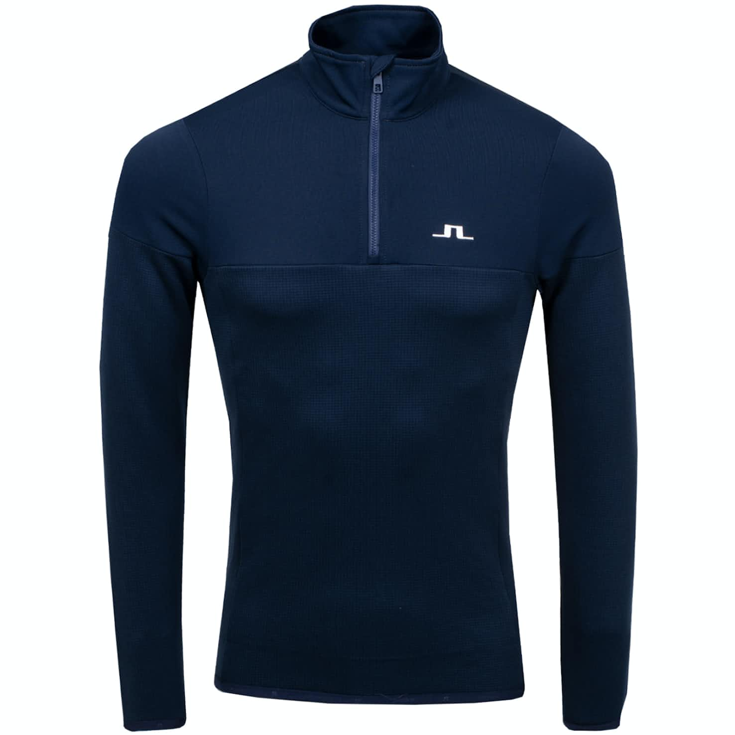 Hubbard Quarter Zip Mid Brushed Fieldsensor JL Navy - AW19