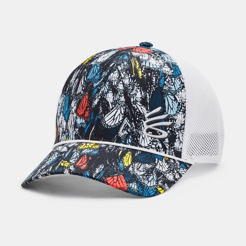 Curry Golf Hat White/White - AW21 0