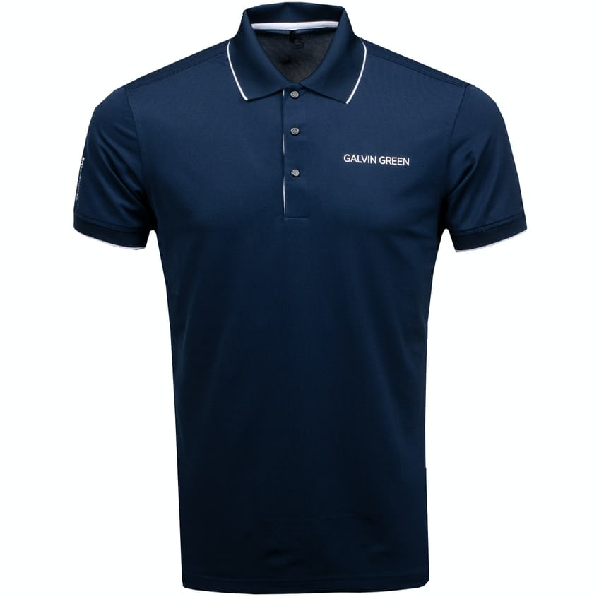 Marty Tour Ventil8+ Polo Navy/White - 2021