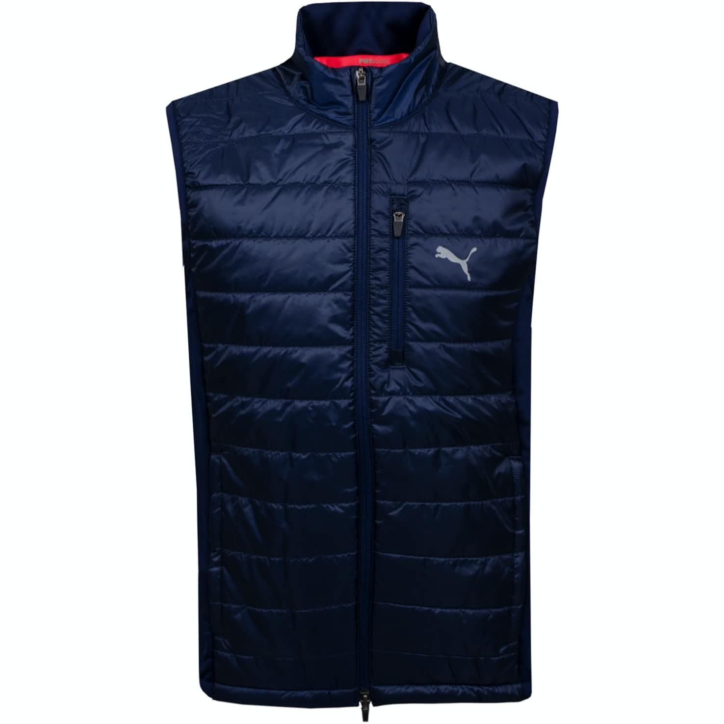 Quilted Primaloft Vest Peacoat - AW19