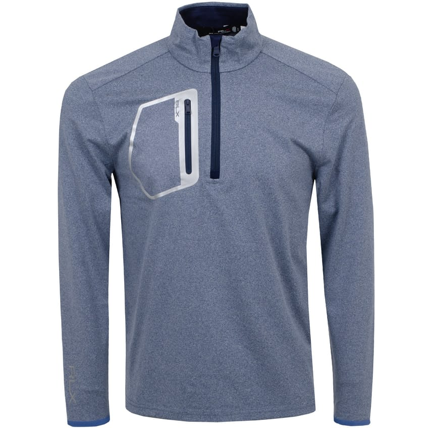 RLX Driver Half Zip Pullover River Blue Heather - AW21 0