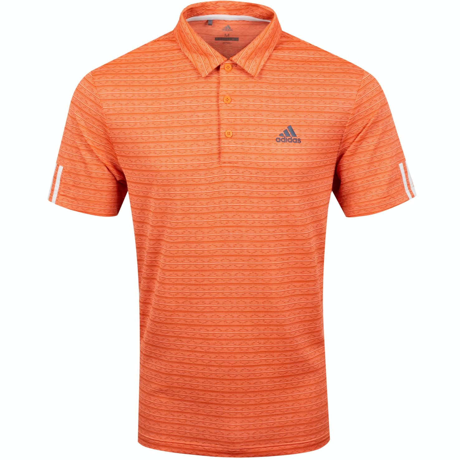 Collection 0 3-Stripe Polo Amber Tint/Coral - SS20
