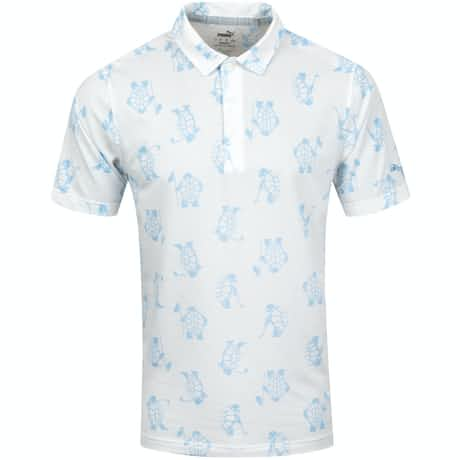 Slow Play Polo Bright White - SS20