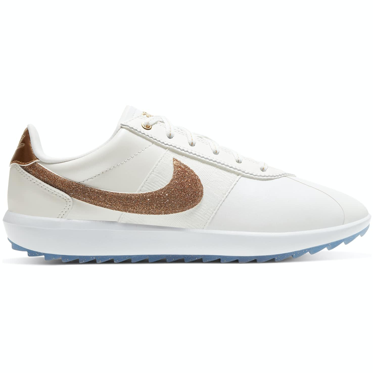Nike Womens Swarovski Cortez G NRG Summit White/Metallic Gold - 2020