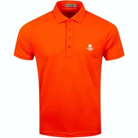 x TRENDYGOLF Skull Pique Polo Cayenne - SS20