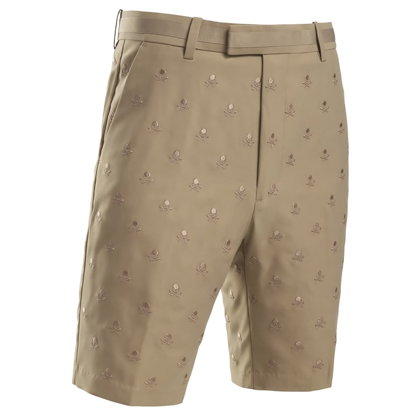 Skull & T's Embroidered Shorts Clay - AW21 0