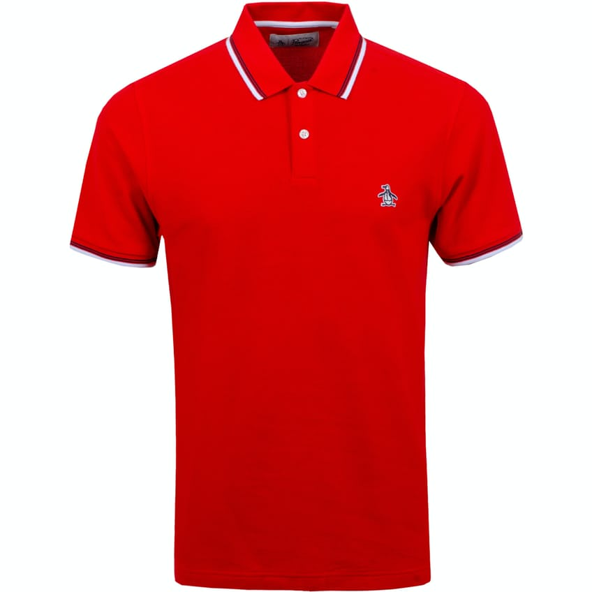 Sticker Pete Polo High Risk Red - SS20 0