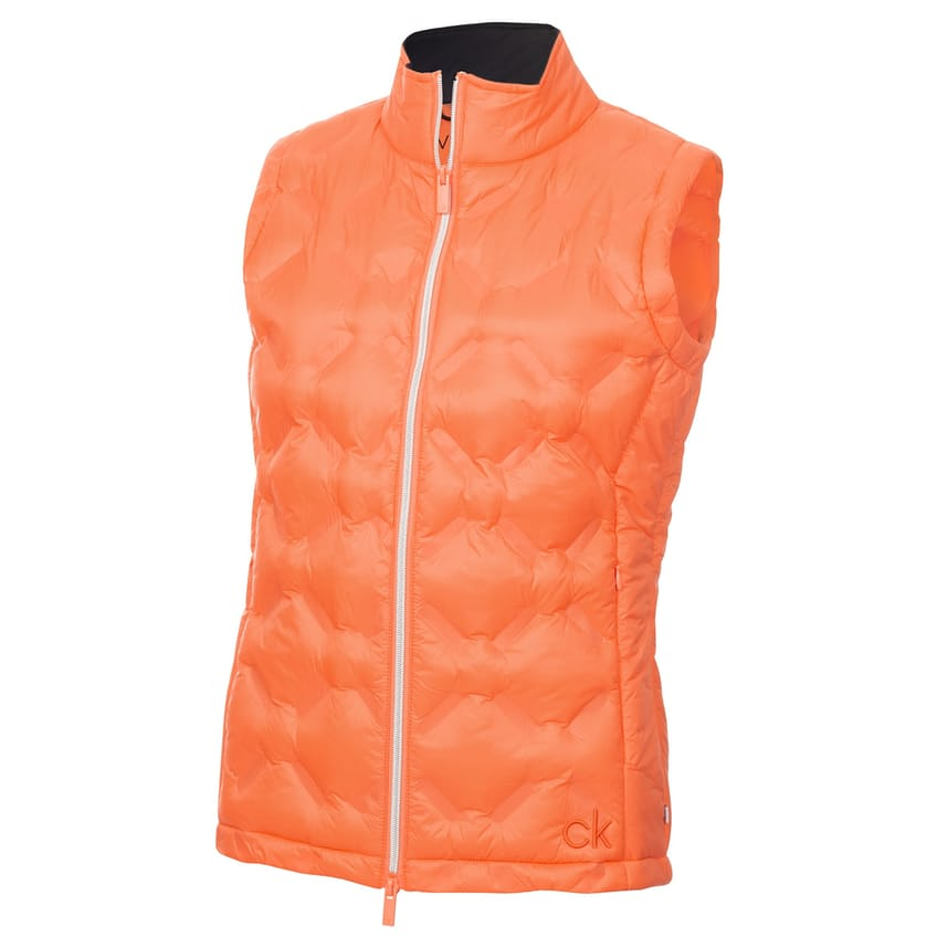 Womens Aster Padded Gilet Coral - AW21 0