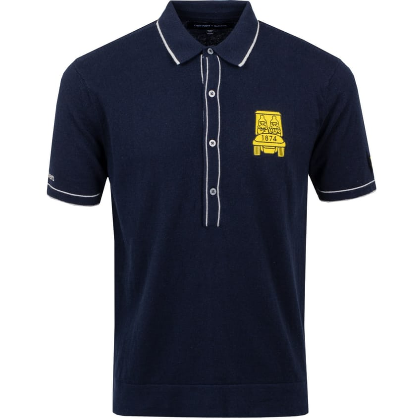 X Golfickers Knitted Polo Dark Navy - 2021 0