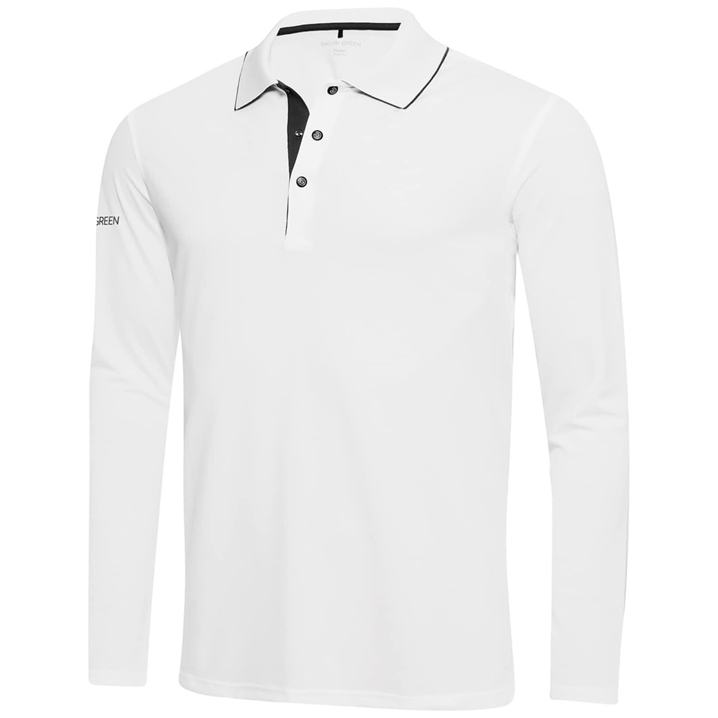 Marc Ventil8+ LS Polo White/Iron Grey - 2020