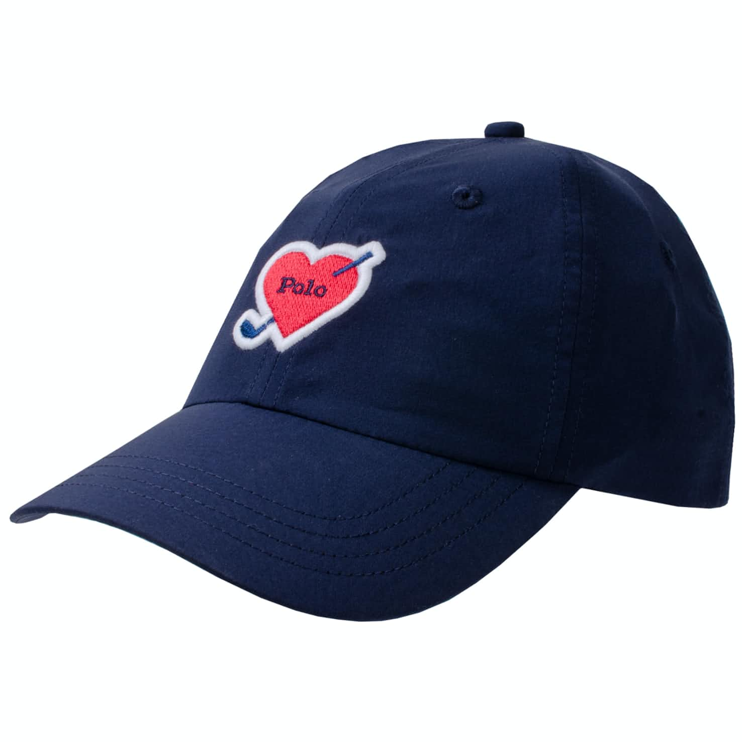 Womens Heart Patch Cap French Navy - AW19