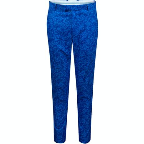 Printed Floral Trousers Sapphire/Laguna - SS20