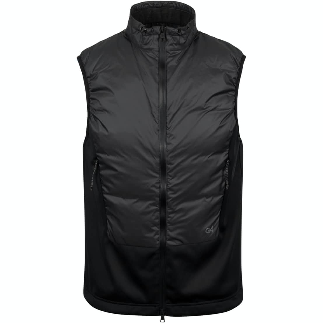 Down Filled Panel Vest Onyx - SS20