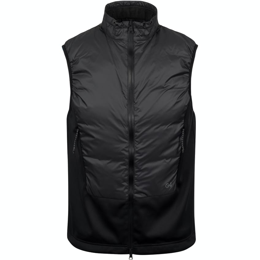 Down Filled Panel Vest Onyx - SS20 0