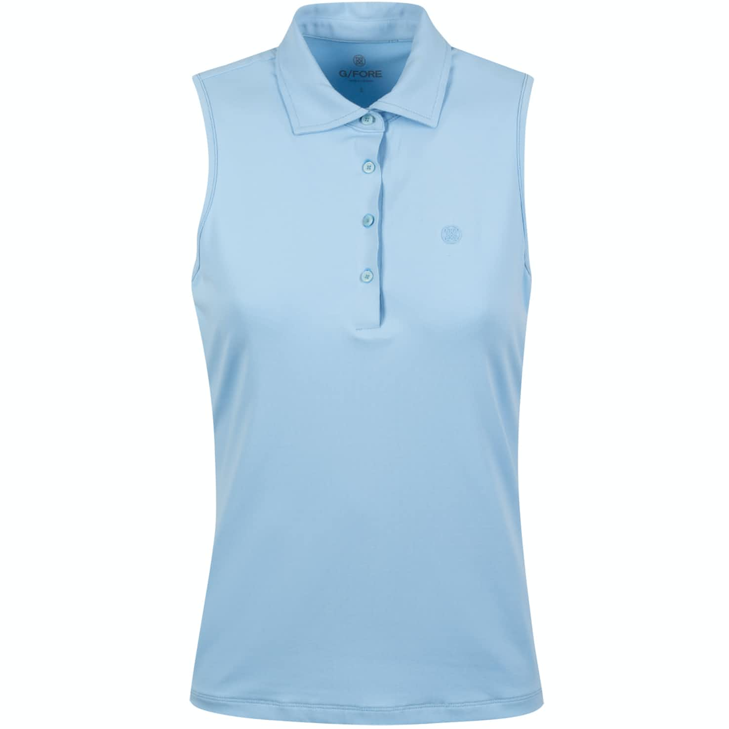 Womens Perforated Sleeveless Polo Baja - SS20
