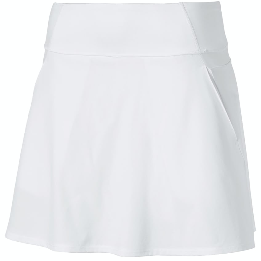Womens PWRSHAPE Solid Woven Skirt Bright White - 2021