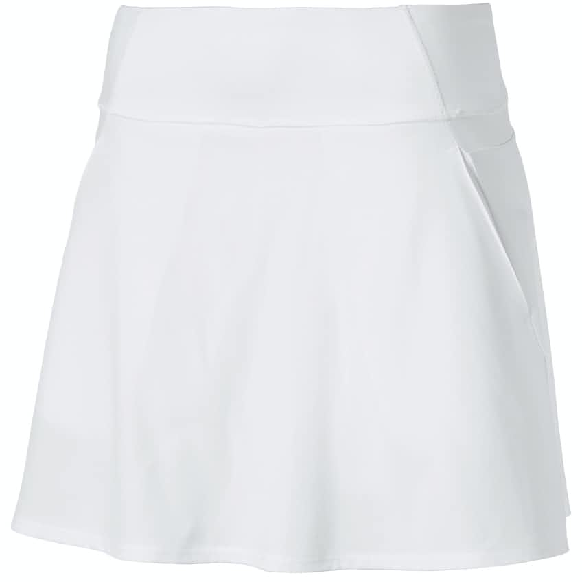 Womens PWRSHAPE Solid Woven Skirt Bright White - 2020