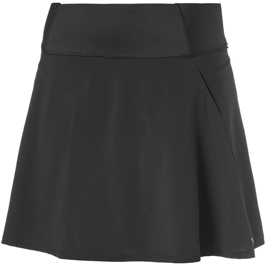 Womens PWRSHAPE Solid Woven Skirt Black - 2021