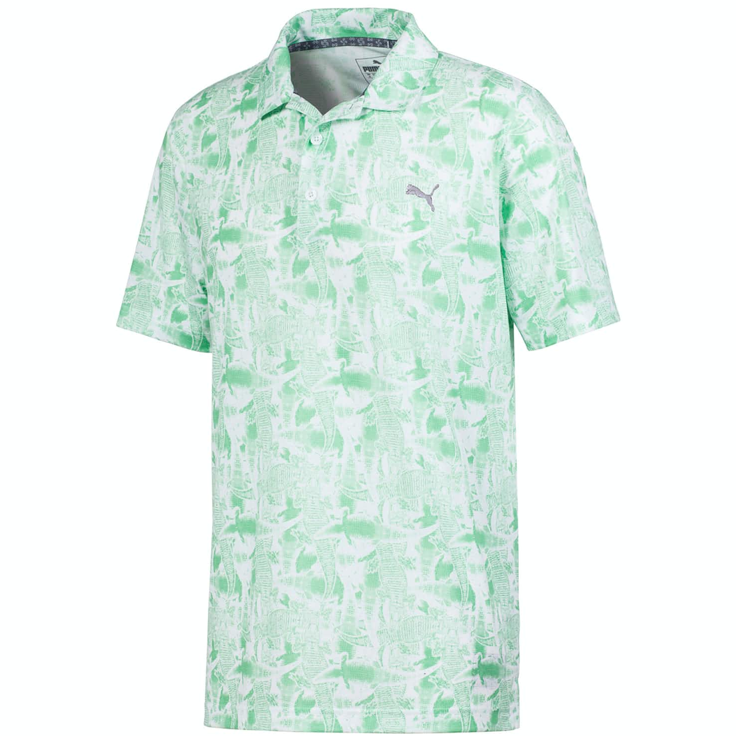 Chompers Polo Bright White/Irish Green - SS20