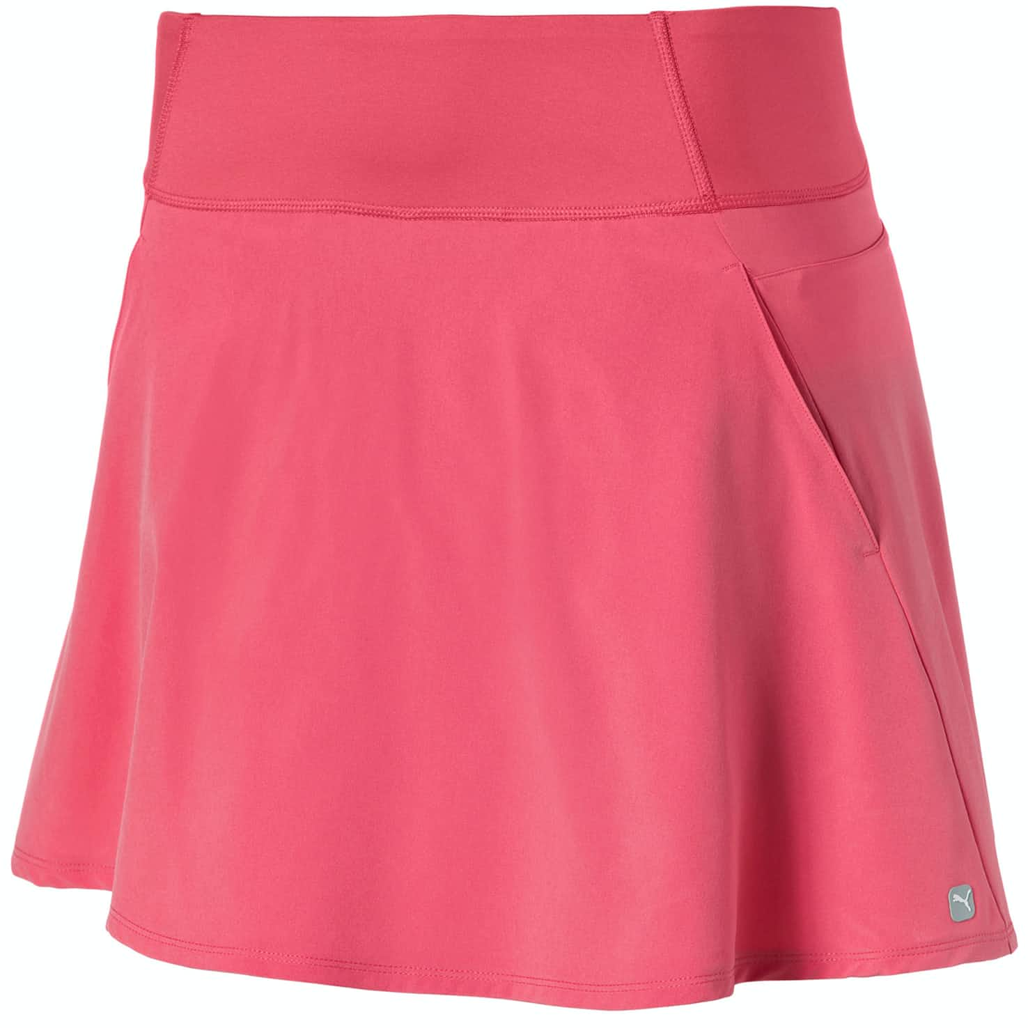 Womens PWRSHAPE Solid Woven Skirt Rapture Rose - SS20
