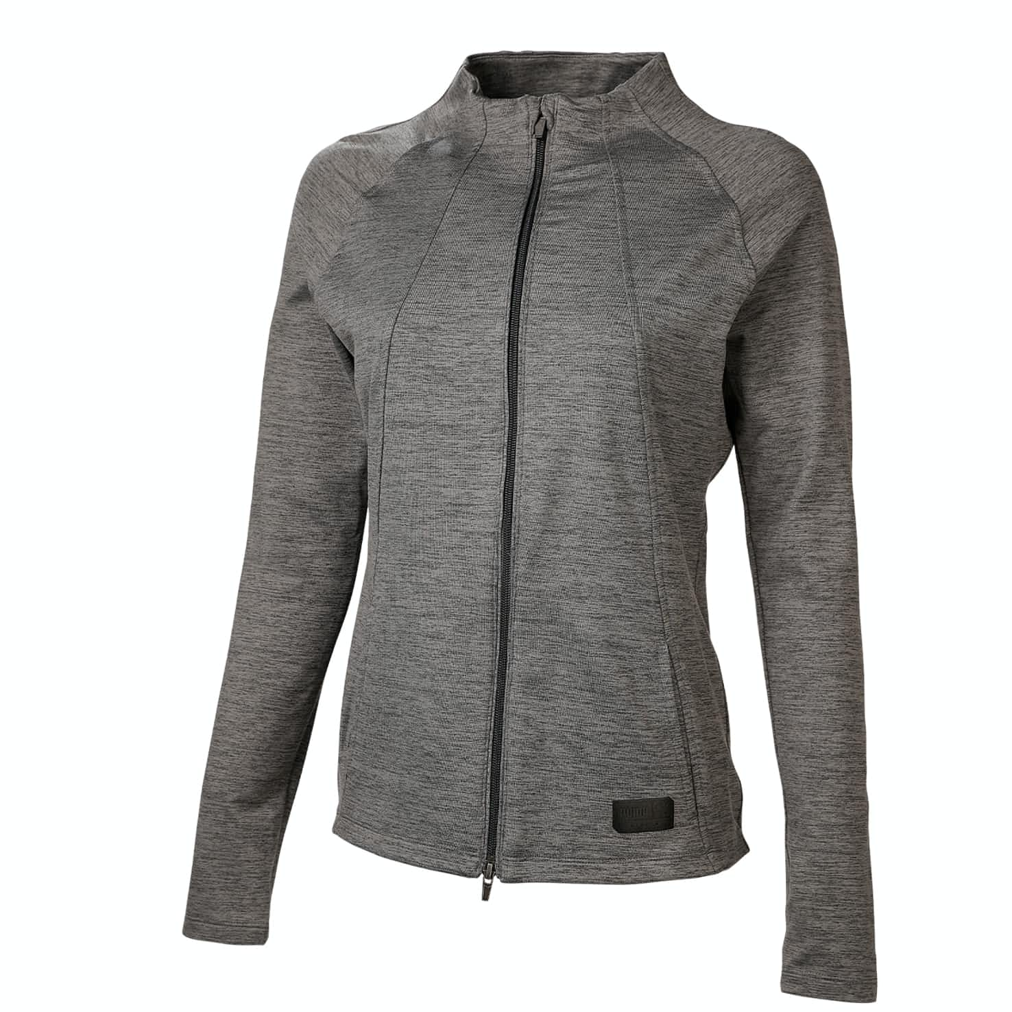 Womens Warm Up Jacket Black Heather - SS20
